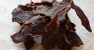 This special jerky is made with ginger and red curry paste